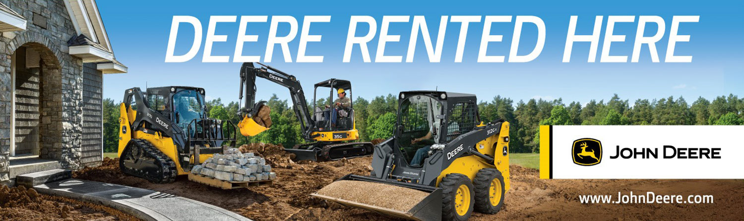 John Deere Equipment for Rent